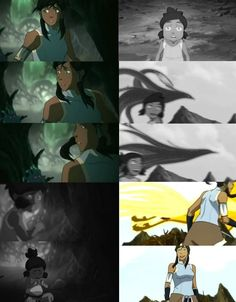 The Legend of Korra: korra's spirit world transformations