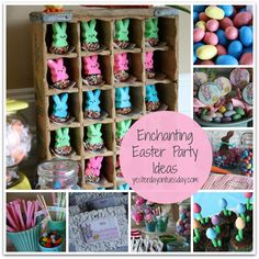 Enchanting Easter Party: Decor, crafts, food ideas and free printables for your Easter Party!