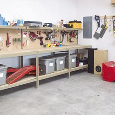 Garage Workshop - brent would love this