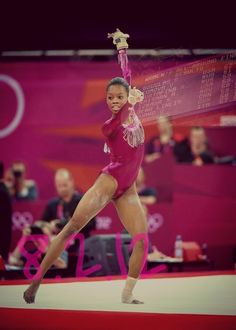 """""""The hard days are the best because that's where champions are made so if you can push through, you can push through anything!"""" - Gabby Douglas #MentorMonday"""