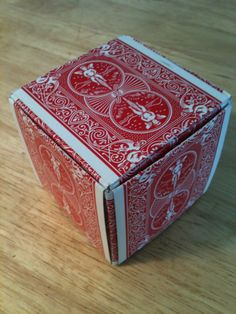 How to Make a Gift Box Out of Playing Cards                                                                                                                                                                                 More
