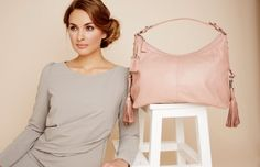Tasche Beatrice in nude von knights & roses.  www.knightsandroses.com