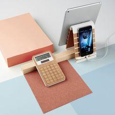 Un matériel de bureau minimaliste