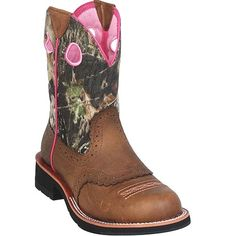 10006854 Women's Fatbaby Cowgirl Western Ariat Bo from Bootbay, Internet's Best Selection of Work, Outdoor, Western Boots and Shoes. Camo Boots, Cowboy Boots, Shoe Boots, Shoes, Country Girl Style, Country Girls, My Style, Country Life, Hunting Girls