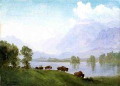 Albert Bierstadt - Buffalo Country