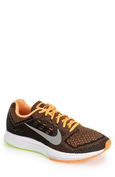 Men s Nike  Zoom Structure 18  Running Shoe Nike Flyknit 7e15a80e31b3