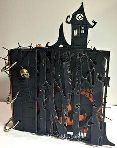 A Creative Journey: Haunted House Mini Album on the Southern Ridge Trading Company Blog.