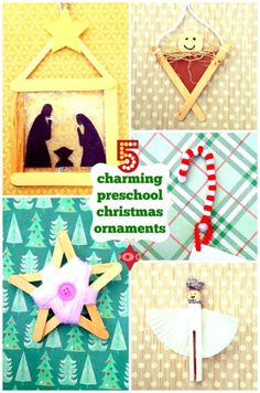 5 Cheap & Charming Christmas Crafts for Preschoolers
