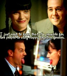 LOVE This!! Happy Forever McGee & Abby // NCIS