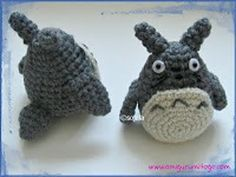 Ravelry: Revised Grey Totoro For The Cat Bus pattern by Sharon Ojala