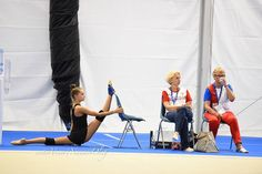 Arina Averina (Russia), backstage World Championships (Pesaro) 2017