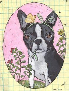 """Kent Wallisch """"Isabella"""" Boston Terrier"""