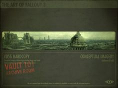 The Art of Fallout 3