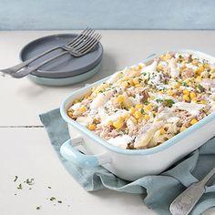 Philadelphia - Recipe - Philadelphia tuna and sweetcorn pasta bake