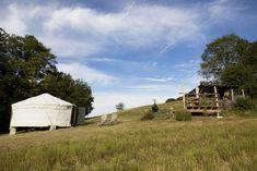 Luxury Eco Yurts in the Dordogne : UK Glamping Holidays