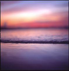 Wave #film #photography #analog #ocean #beach #sunset