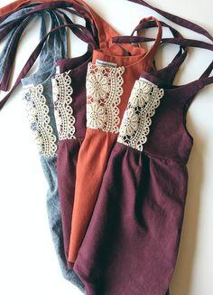 Handmade Linen & Lace Jumpsuits   StandardOfGraceShop on Etsy