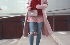 outfit 7 blogger 7 styles valentinstag rosa rot look
