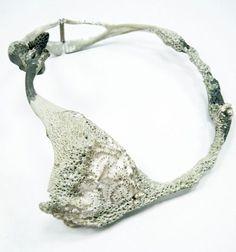 Daniella Saraya - Necklace - Silver, epoxy, color