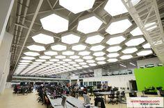 Pictures exceptional project Offices acoustic light, Amérique du Sud - Barrisol