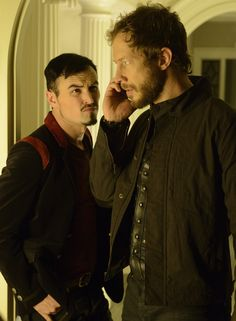 Lost Girl - Paul Amos as Vex and Kris Holden-Ried as Dyson