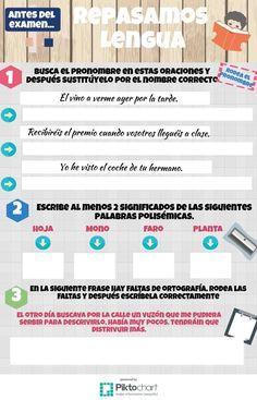 Repasamos Lengua 2.1 | @Piktochart Infographic