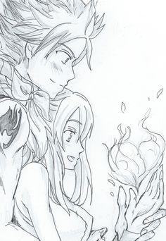 Natsu and Lucy - Happy Valentine's Day