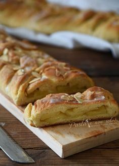 Goal - Italian Pastries Pastas and Cheeses Apple Recipes, My Recipes, Sweet Recipes, Dessert Recipes, Ricotta, Torta Recipe, Italian Pastries, Light Desserts, Best Italian Recipes
