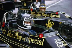 JPS Lotus- Jacky Ickx and Ronnie Peterson.