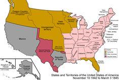 United States of America - 1842