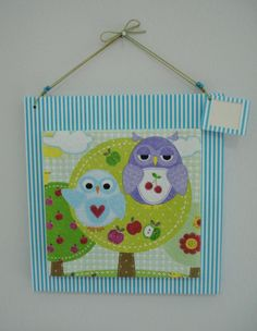 Owls in their tree!