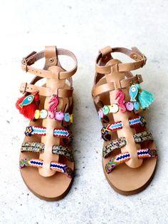 1beff024754 SHOES :: Shop sandals :: Mini - Elina Linardaki - Artisanal Leather Sandals