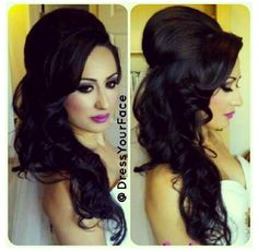 I want this hair for my wedding!