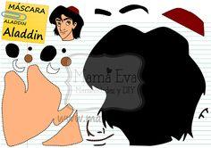 Plantillas personajes princesas Disney