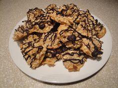 Homemade Coconut Macadamia Macaroons Dessert Recipe
