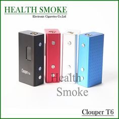 Newest Hot Sale Genuine Cloupor T6 100w 26650 Mod Variable Voltage  Mechanical Mod for 510 thread Electronic Cigarette   About Us we focus on offering you the most high-quillity electronic cigs,caring about your health,also. The toprate e-cigs provided in the  #RokokElektrik http://vaper.ga/v38d1