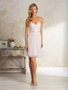 View Dress - MODERN VINTAGE BY ALFRED ANGELO 2017 Collection - 8639S | AlfredAngelo Bridesmaids