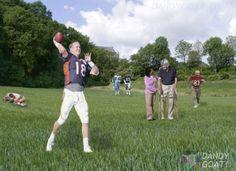 Peyton Manning taken to rescue home