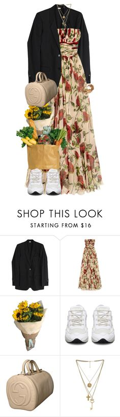 """""""Market Stalls."""" by quiche ❤ liked on Polyvore featuring Helmut Lang, Dolce&Gabbana, Gucci and Chanel"""