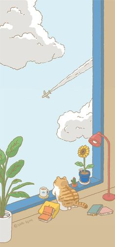 Pin by aulia on - | Cute cartoon wallpapers, Wallpaper iphone cute, Cartoon wallpaper