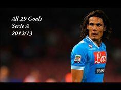 ★ Edinson Cavani ★ All 29 Goals ★ 2012/13 ★ Serie A ★ ♥♥♥ ● [1080p] ● HD