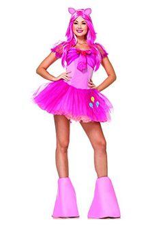 Leg Avenue Womens My Little Pony Friendship Is Magic 5 Piece Pinky Pie @ niftywarehouse.com #NiftyWarehouse #MyLittlePony #Cartoon #Ponies #MyLittlePonies