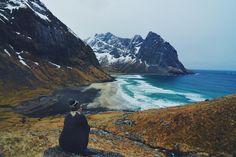 Kvalvika Beach (Moskenesoy) - 2018 All You Need to Know BEFORE You Go (with Photos) - TripAdvisor // #lofoten #moskenes #hamnøy #reinefjord #reinefjorden #reinefjordensjøhus #luxury #highend #luxuryvacation #accommodation #rorbu #rorbuer #hiking #kvalvika #