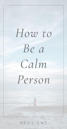 Being a calm person can help you navigate the difficult times in your life with ease and grace and handle situations with more patience and forgiveness. Here& how to be a calm person. Anxiety Relief, Stress Relief, Understanding Anxiety, Self Care Routine, Coping Skills, Stress Management, Self Esteem, Self Improvement, Psicologia