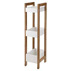 Wooden 3 Tier Bathroom Storage Unit