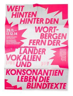 Exhibition design for Hochschule Hannover. © Nahuel Gerth, NGVK
