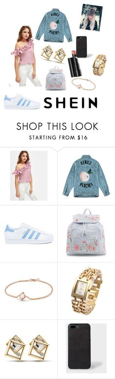 """Untitled #6"" by zoemel98 ❤ liked on Polyvore featuring Être Cécile, adidas, New Look, David Yurman and Arbonne"