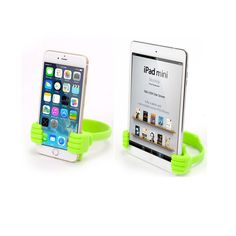 Cute Thumb Holder For iPhone/Mini iPad, Big Thumb Mobile Cell Phone ,Tablet Accessory, Mount Stand, Support Desktop ,Table Stents