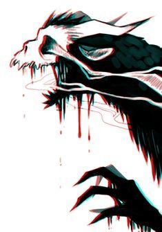 character art SLEEP, SWEET SOUL i wonder if belial has a final form and what it. Creepy Drawings, Creepy Art, Art Drawings, Monster Art, Monster Concept Art, Arte Horror, Horror Art, Dark Fantasy Art, Dark Art