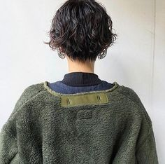 Horizontal angle not found ð … – Frisuren hairlove. Tomboy Hairstyles, Permed Hairstyles, Cool Hairstyles, Hair Inspo, Hair Inspiration, Messy Pixie Haircut, Wavey Hair, Hair Perms, Asian Short Hair